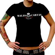 MALAS CARTAS Streetpunk 2009 GIRL Tshirt