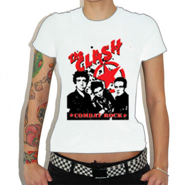 CLASH:Combat Rock Camiseta chica