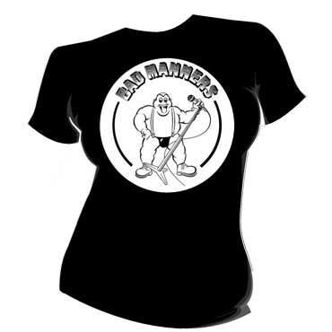 BAD MANNERS Fatty GIRL T-shirt / Camiseta