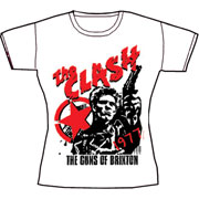 CLASH,THE:Guns of Brixton Camiseta