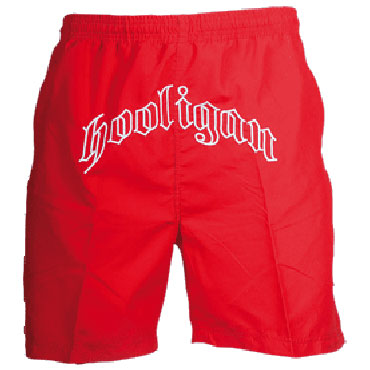 Shorts Lennox Rojo - Hooligan Streetwear