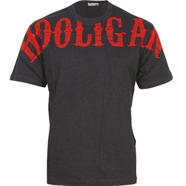 TS Visual black/red / Camiseta negra/roja HOOLIGAN STREETWEAR