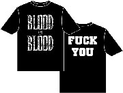 BLOOD FOR BLOOD Fuck you Camiseta