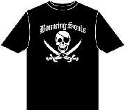 BOUNCING SOULS: Pirate T-shirt