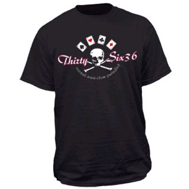 THIRTYSIX TSX Poker T-shirt / Camiseta