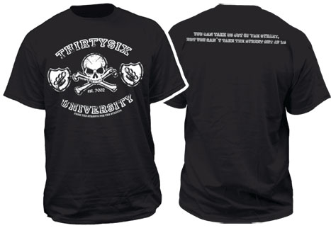 THIRTYSIX University T-shirt / Camiseta