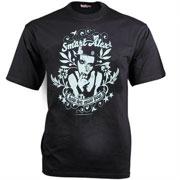 TSL Smart Alex Slimfit Black/Negro T-shirt - Hooligan Streetwear