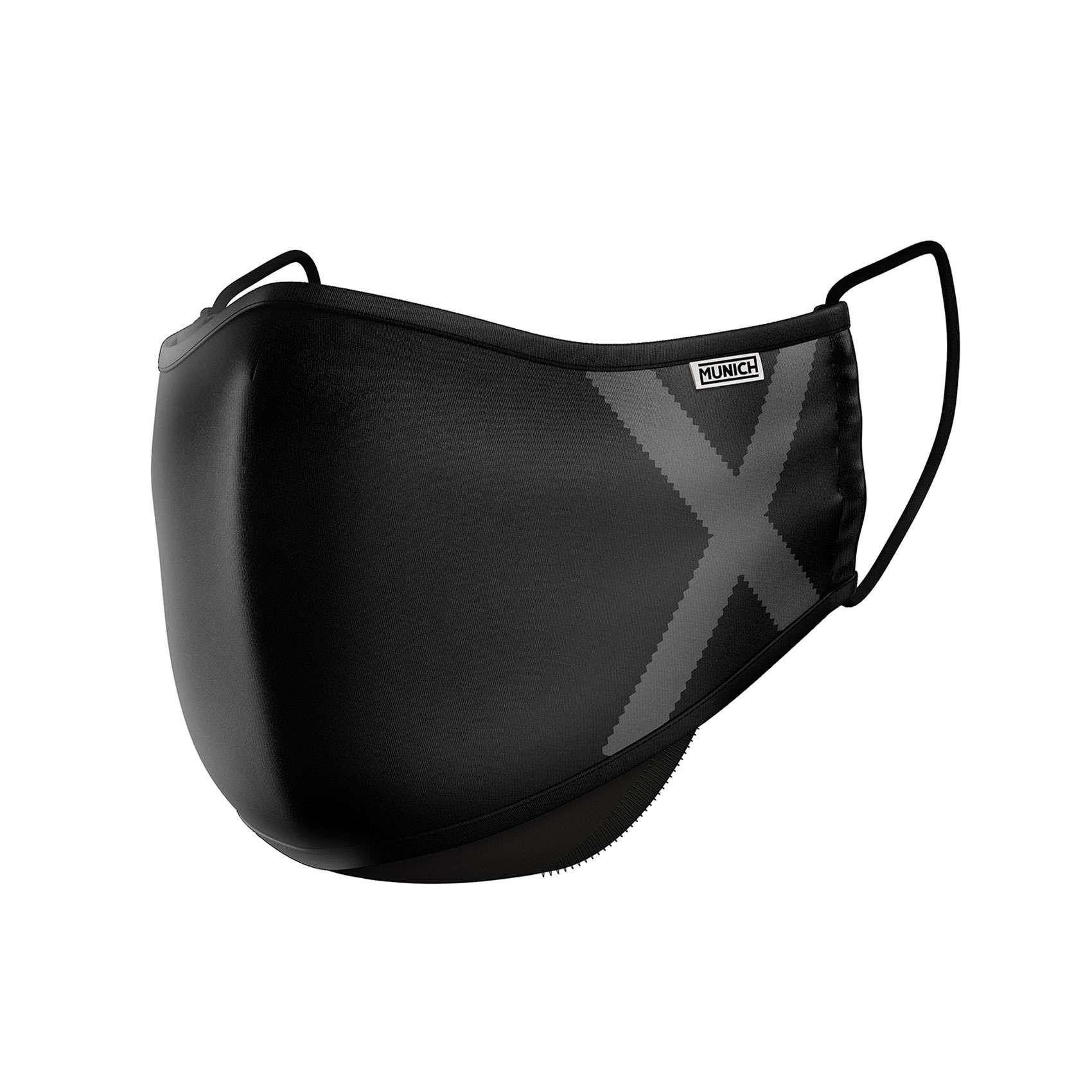 MASCHERA X-SHIELD V2.5 BLACK