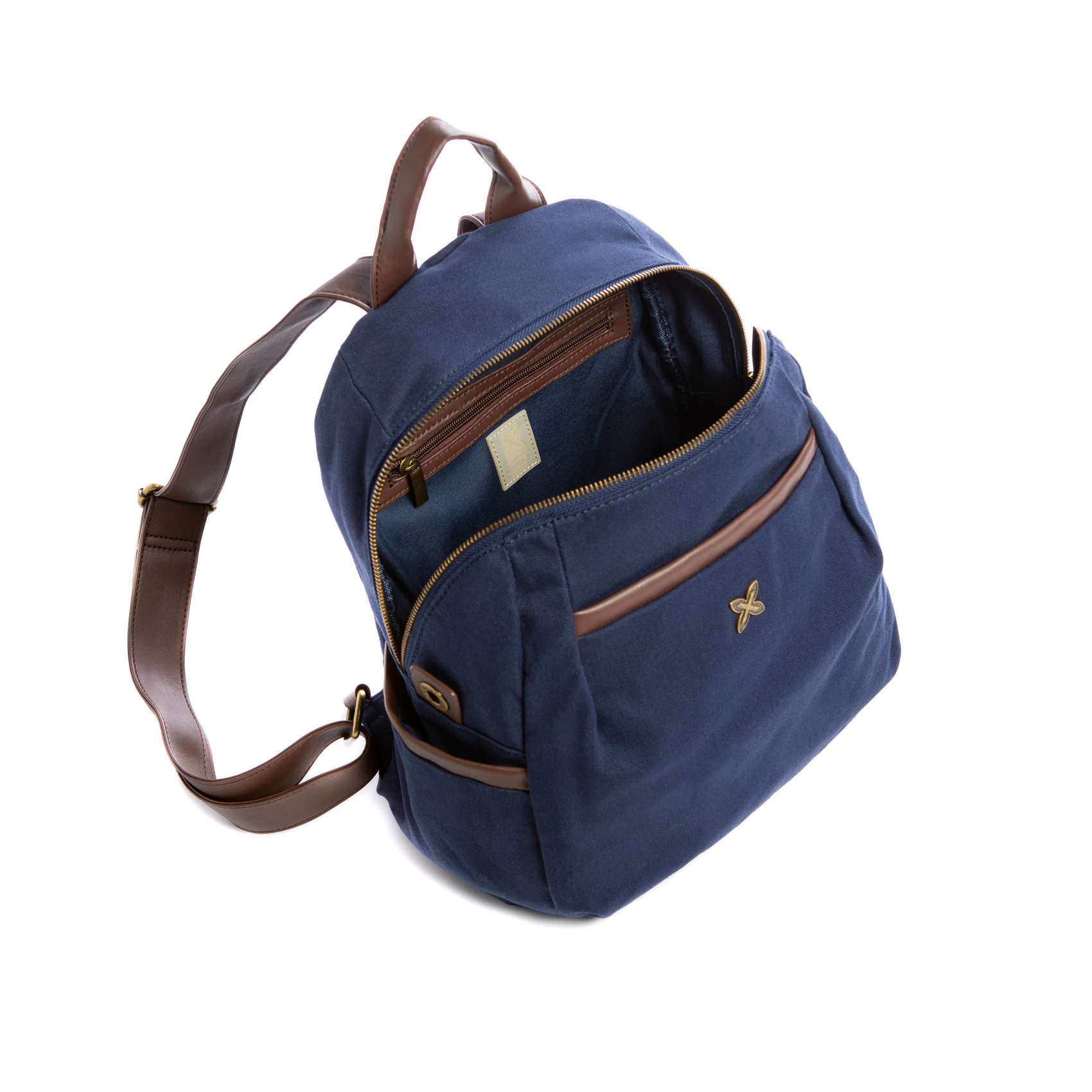 BACKPACK ROUND STEP BLUE 75