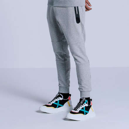 PANTALONI TECH GREY