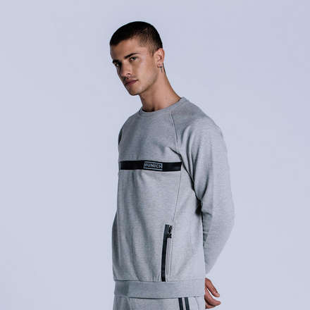 SUDADERA TECH GREY