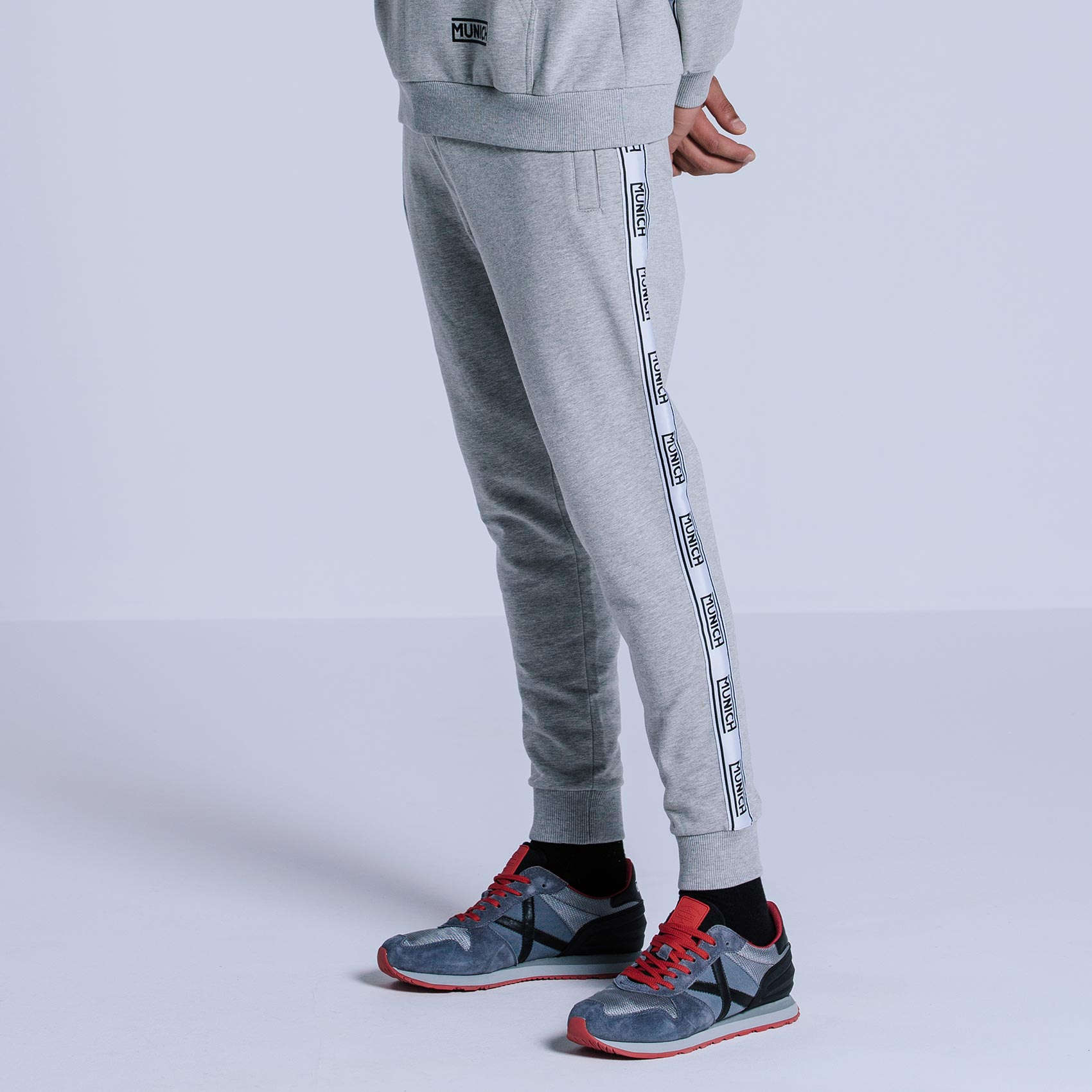 PANTALONS FLEECE GREY