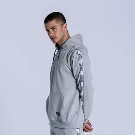 SUDADERA FLEECE GREY