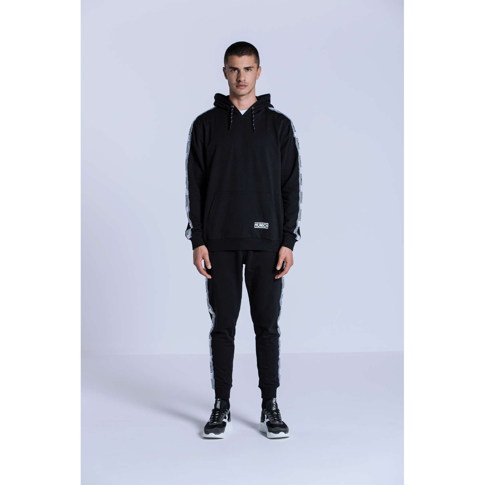 DESSUADORA FLEECE BLACK