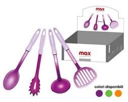 Utensilio de cocina en acrílico de colores con mango Soft Touch