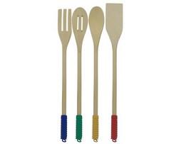 Set 4 utensilios de madera