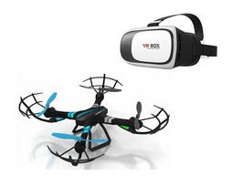 Dron Streaming + gafas VR