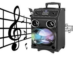 Altavoz amplificador de alta potencia Karaoke
