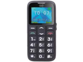 Trevi Sicuro 10. Teléfono Móvil personas mayores con Base Cargadora y SOS