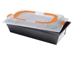 Molde rectangular Plum Cake. Medidas 36x23x4,5