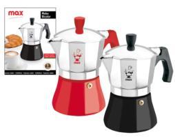 """Cafetera """"Moka Bicolor"""" 1 taza"""