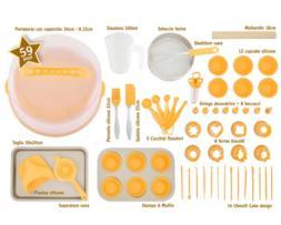 Super Kit de Pastelería 59 piezas