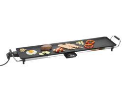 Tristar Barbacoa xxl - plancha teppanyaki eléctrica de gran superficie útil 90x23 cm, revestimiento teflón anti-adherente