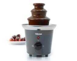 Tristar Mini fuente inox de chocolate - fundidora chocolate, torre de 3 pisos en acero inox, con hélice inox rotatori