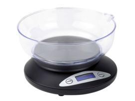 Tristar Bascula de cocina digital, precisión de 0,01 gramo