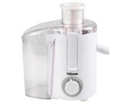 Tristar Licuadora 2 ajustes de velocidad bandeja extraíble, separa fácilmente la pulpa del zumo
