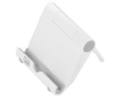 Trevi Mini soporte para tablet y smartphone en abs con inclinación regulable. Estable y práctico
