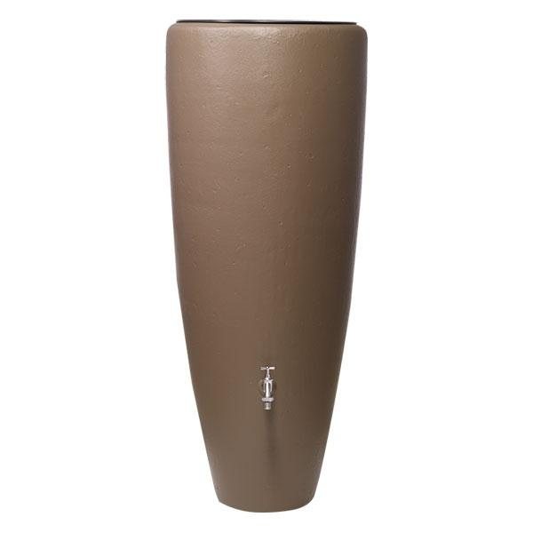 Depósito recogida agua de lluvia 2 en 1, fabricado en material plástico de primera calidad estable a los rayos UV y reciclable al 100%.