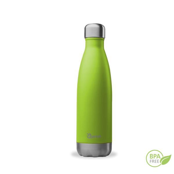 Botella de acero inoxidable isotérmica Qwetch verde