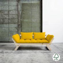 El diván cama Bebop amarillo