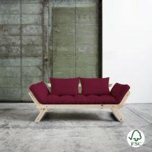 El diván cama Bebop burdeos