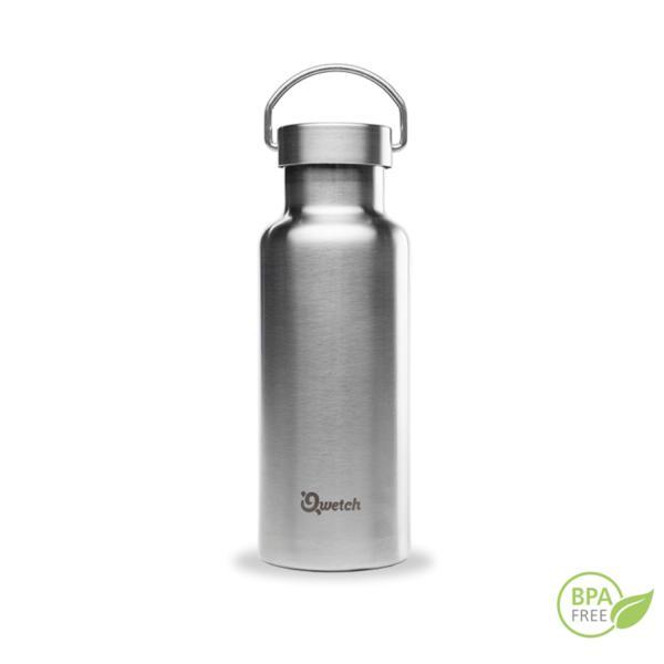 botella isotérmica de acero inoxidable Qwetch