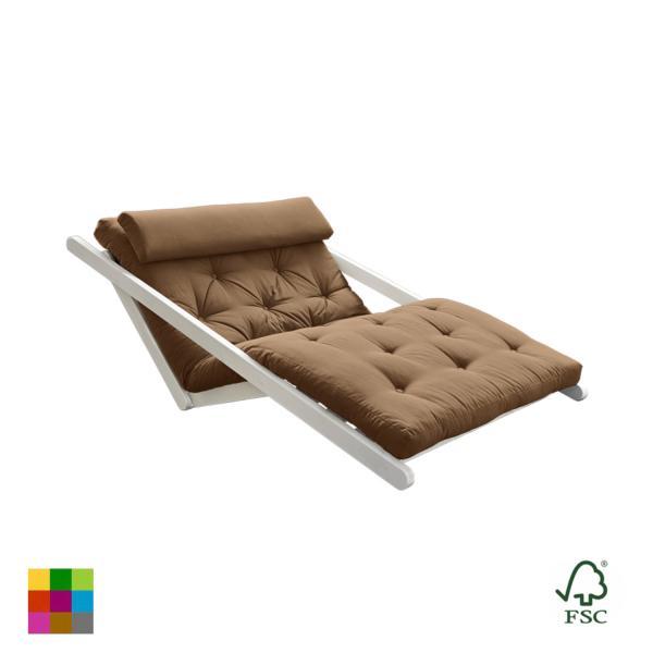 Sillón cama Figo blanco