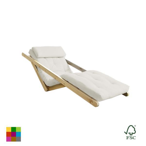 Sillón cama Figo natural