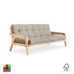 Sofá cama Grab lacado natural - Ítem
