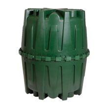 El depósito de recogida de agua Hércules puede instalarse en superficie o soterrado
