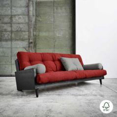 El sofá cama Indie Granite Grey