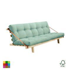 Sofá cama Jump lacado natural