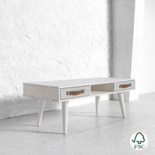 Dance es una mesa de centro elegante de madera maciza que se ajusta al estilo de tu sala de estar. - Ítem