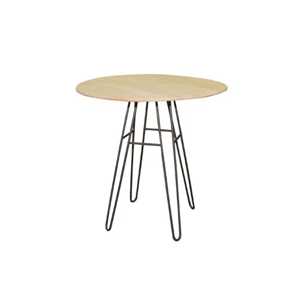 Mesa de madera de cedro redonda Tossa