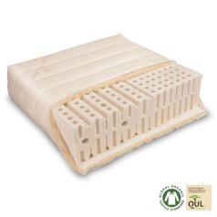 Varia Lana Basic es un colchón de látex natural fabricado con materiales 100% ecológicos en Alemania