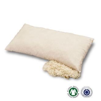 Almohada rellena de lana nueva