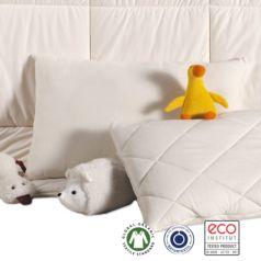 Almohada infantil Mira de lana virgen