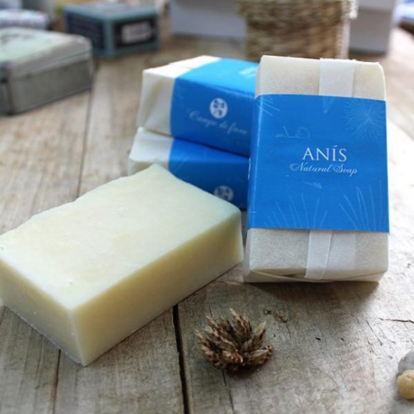 Jabón natural de anís y romero