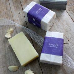Jabón natural de argán y pepita de uva