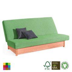 El fabricante Dormiente nos sorprende con este sofá-cama de dos plazas cómodo y moderno.